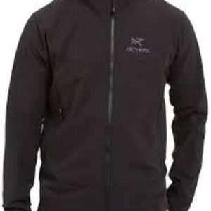ARC'TERYX Softshell LT Jacket Sz XS Black